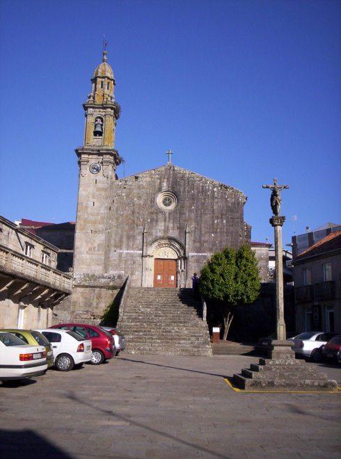 Igrexa de Rianxo Santa Columba