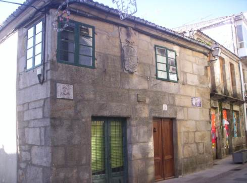 Casa de Rafael Dieste en Rianxo