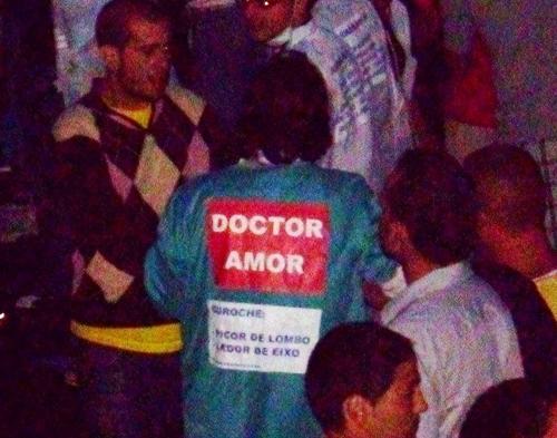 Ata o doutor Amor estivo na festa