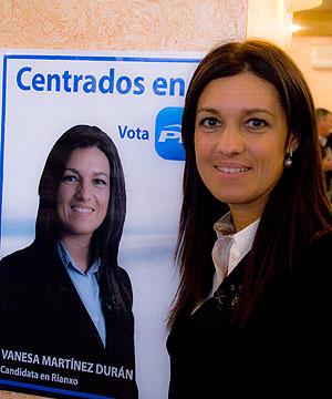 Entrevista a Vanessa Martínez, candidata á alcaldía de Rianxo polo PP (1/4)
