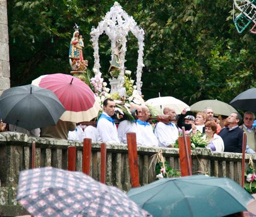 Fotos das Festas da Guadalupe 2011: a procesión (2/6)