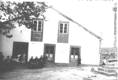 Casa dos carreteiros, en Asados, nos anos 50