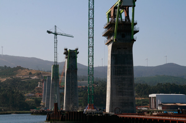 A ponte do AVE sobre o río Ulla, en Isorna (5/6)