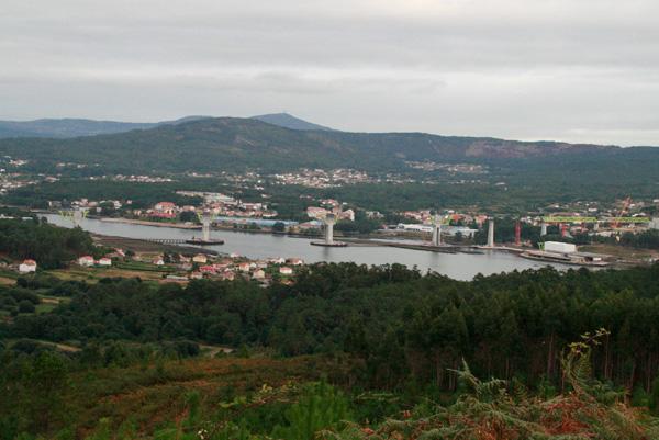 A ponte do AVE sobre o río Ulla, en Isorna (6/6)