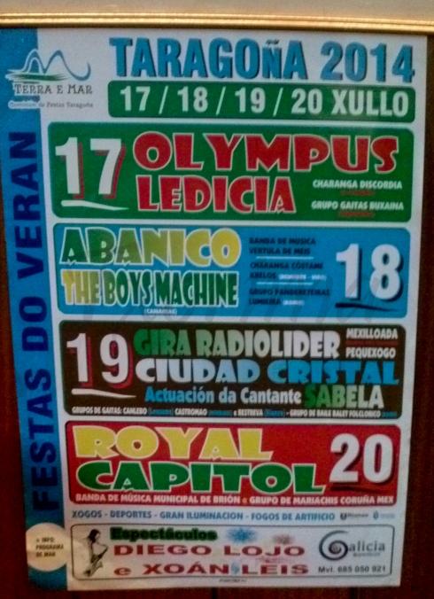 cartaz Taragoña