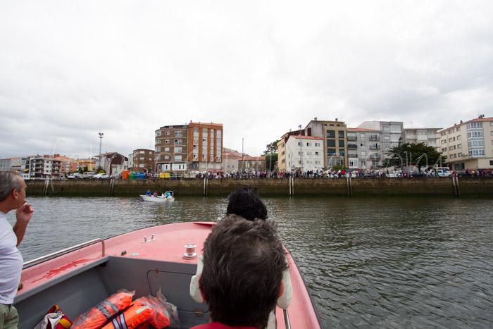 Fotos das festas da Guadalupe de Rianxo 2014: a procesión marítima (1/6)