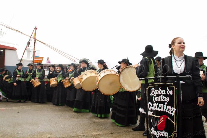 Fotos das festas da Guadalupe de Rianxo 2014: a procesión marítima (6/6)