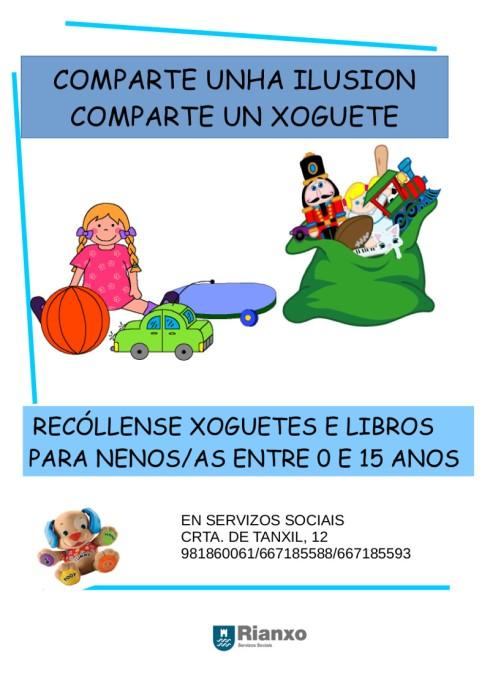 CARTEL DE RECOLLIDA DE XOGUETES 2014