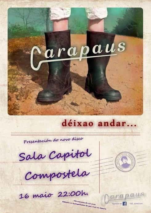 Carapaus_CartazPresentación