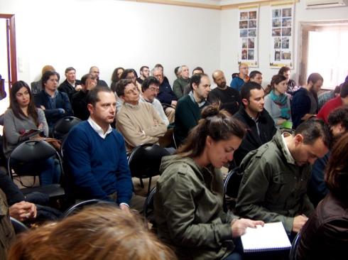A intervención de Gallego foi das seguidas con mais expectación e admiración.
