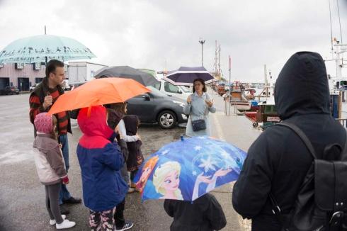 16Día da Biblioteca 2015, Nautico de Rianxo, Obradoiro de nudos mariñeiros24 de octubre de 2015