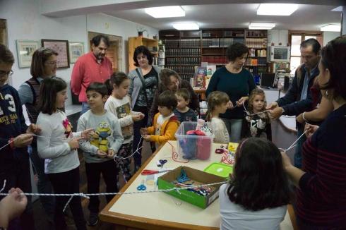 5Día da Biblioteca 2015, Nautico de Rianxo, Obradoiro de nudos mariñeiros24 de octubre de 2015