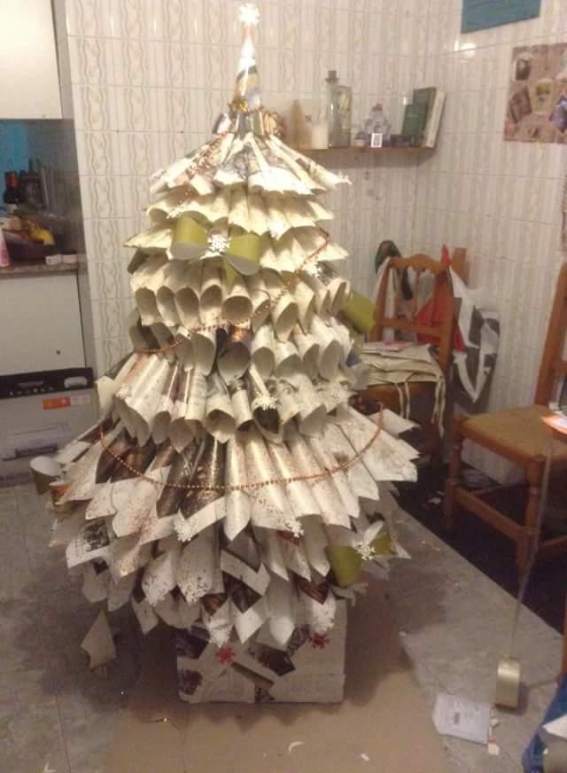 Decoraci n artesanal en rianxo polo nadal fotos de rianxo - Decoracion navidena artesanal ...